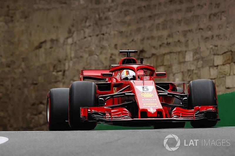 F1アゼルバイジャン予選速報:ベッテルPP。トロロッソQ1で姿消す
