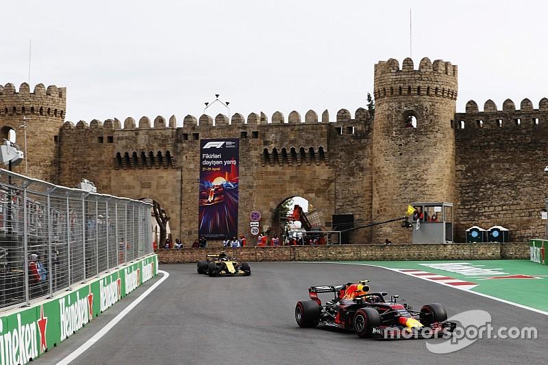 Grand Prix van Azerbeidzjan verlengt F1-deal tot 2023