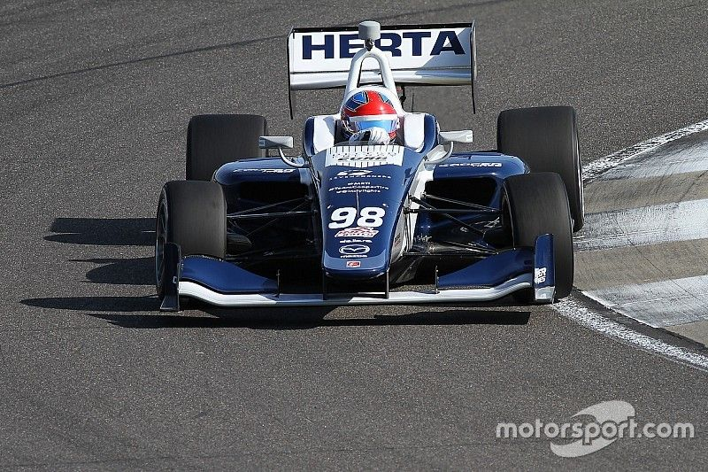 Indy GP Indy Lights: Herta wins despite Turn 1 incident