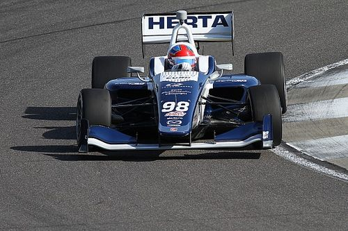 Indy GP Indy Lights: Herta wins despite Turn 1 incident