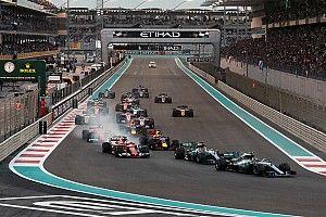 Formel 1 2017 in Abu Dhabi: Das Rennergebnis in Bildern