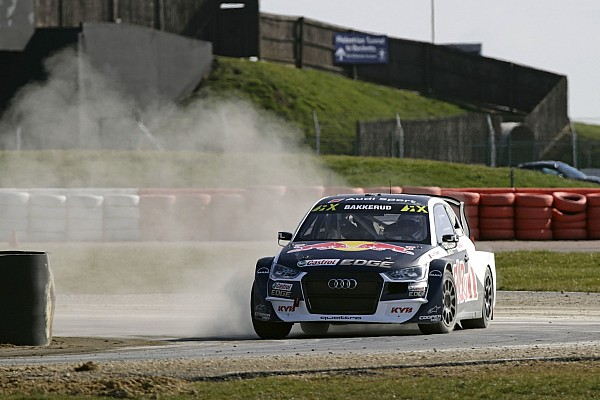 Ekstrom and EKS Audi quickest in Silverstone RX test