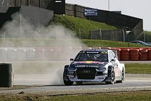 Ekstrom and EKS Audi quickest in Silverstone RX test