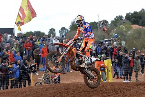 Prado ci prova, ma anche in Spagna la qualifica della MX2 è di Jonass