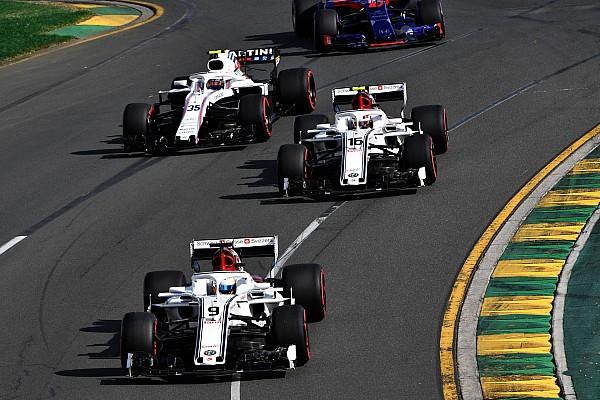 Leclerc: La rapidité d'Ericsson rend mes premiers GP difficiles