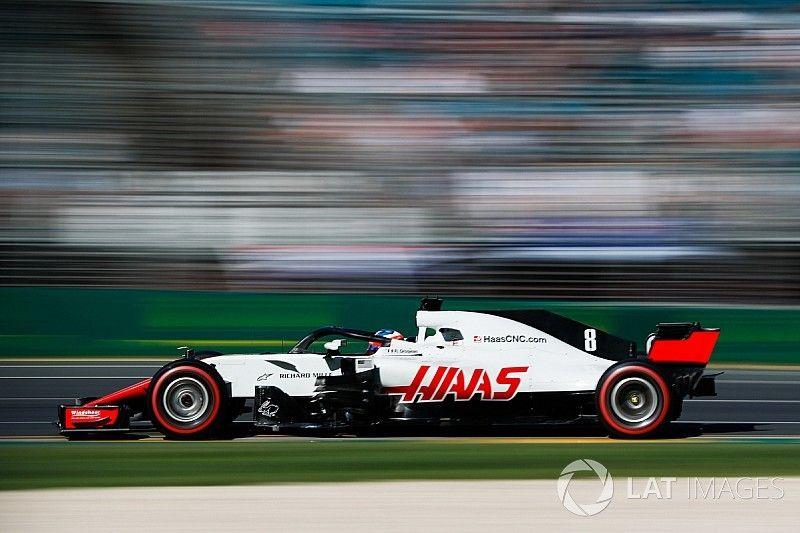 """Grosjean: """"Geweldig als Haas echt in niemandsland rijdt"""""""