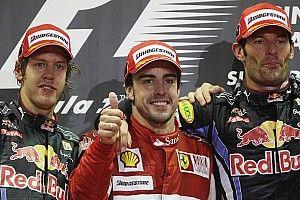 """Webber sobre Alonso: """"Es muy creativo cuando vas a adelantarle"""""""