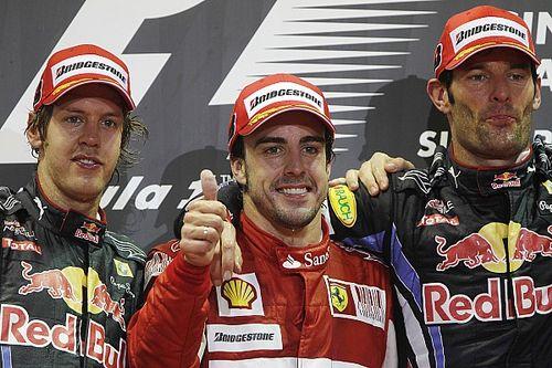 Webber sobre Alonso: Era criativo quando você ia ultrapassá-lo