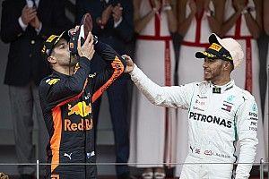 """Ricciardo est impressionné par Hamilton : """"C'est un exploit"""""""