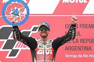 Crutchlow ganó en Argentina una carrera inédita