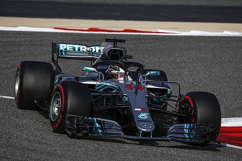 Hamilton has no answers on Mercedes pace