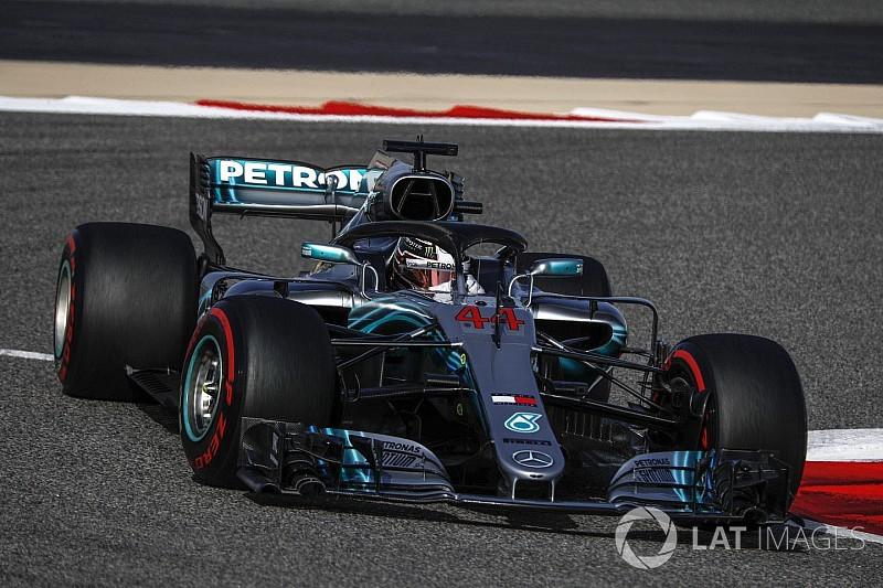 Hamilton no encuentra razones para el ritmo de Mercedes en Bahrein