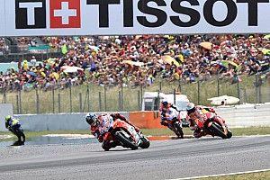 Marquez-Lorenzo dominasi 75% balapan 2018