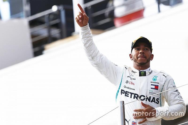 """Hamilton: """"Le meilleur GP de France que j'aie jamais connu"""""""