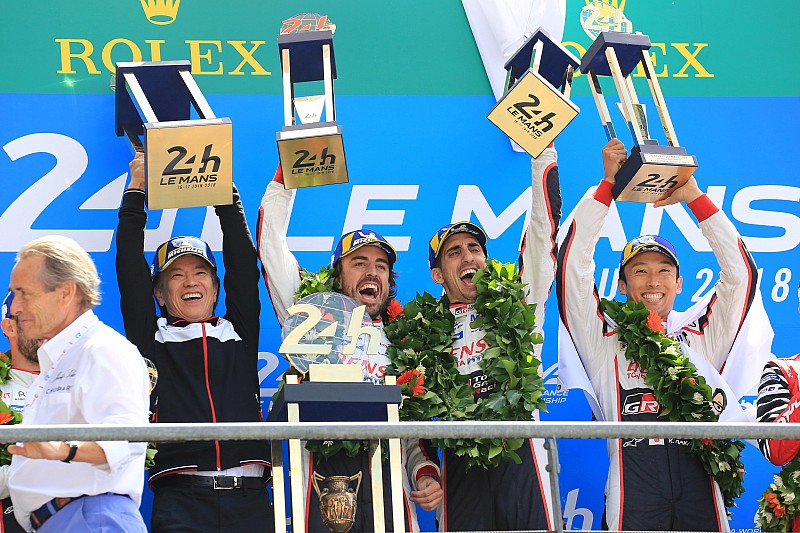 Alonso a 25. Le Mansban, aki rögtön győzni tudott