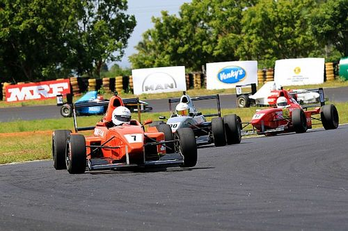 Coimbatore MRF F1600: Datta completes clean sweep