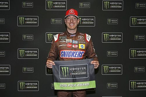 Kyle Busch edges Ryan Newman for Atlanta Cup pole