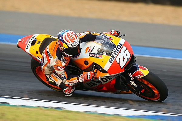 MotoGP Reporte de prácticas Pedrosa terminó las pruebas de Tailandia con el mejor tiempo