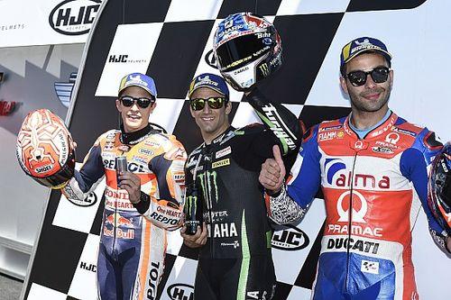 Zarco se lleva la pole de MotoGP en casa