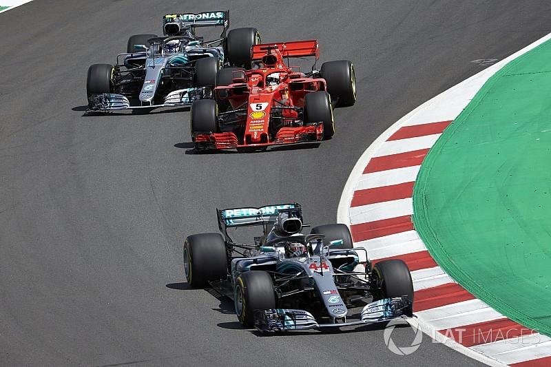 Barcelona: Warum Bottas den Start gegen Vettel verloren hat