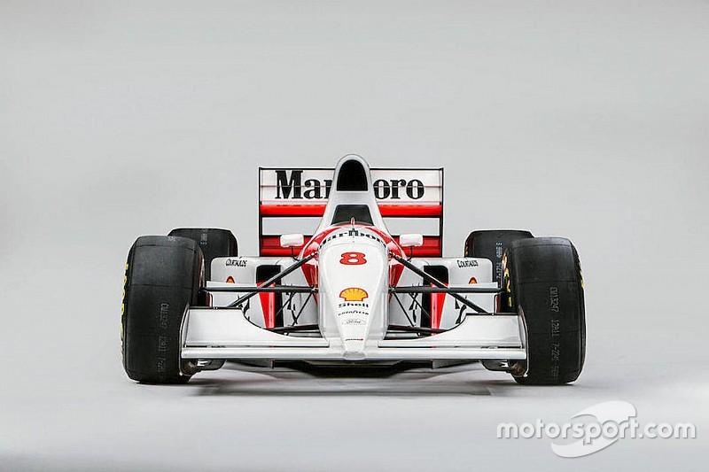 Ecclestone vásárolta meg Senna legendás McLaren versenygépét