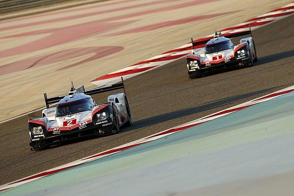 Abschlusstraining in Bahrain: Porsche an der Spitze