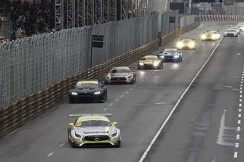 "Macau GT winner Mortara ""felt pretty stupid"" after start error"