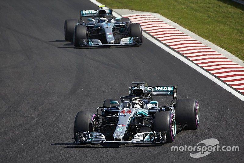 Mercedes evaluará después de Monza si Bottas toma un rol de escudero