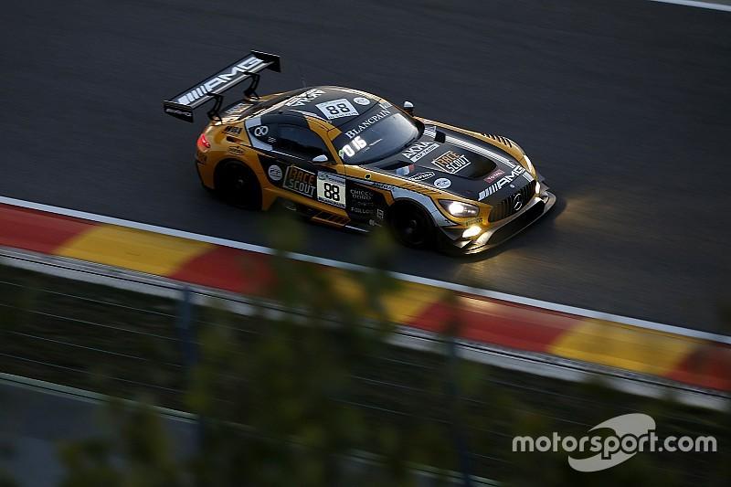 El Mercedes de Juncadella sigue 4º a 8 horas de acabar Spa