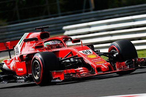 Hungaroring, J1 - Giovinazzi et Ferrari en tête à la mi-journée