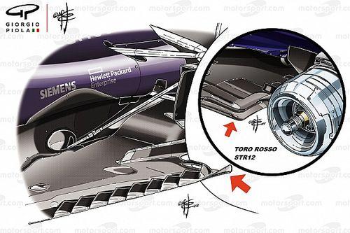 """Red Bull: c'è un """"ricciolo"""" sul fondo della RB14"""