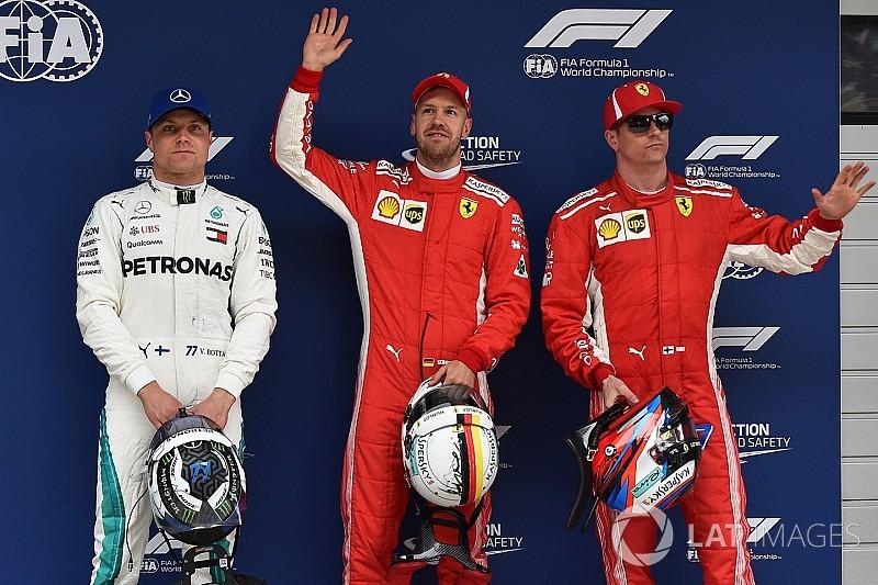 中国GP予選:ベッテル、コースレコード更新で52回目のポールポジション