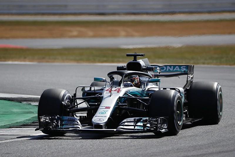 Silverstone, Libere 1: le due Mercedes rifilano mezzo secondo alla Ferrari di Vettel