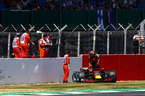 Verstappen admite que acelerou muito com pneu duro
