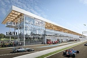 Renderings of new pit building for Montreal F1 track revealed