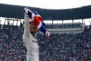 """Hamilton : """"25 ans plus tard, je suis quadruple Champion du monde"""""""