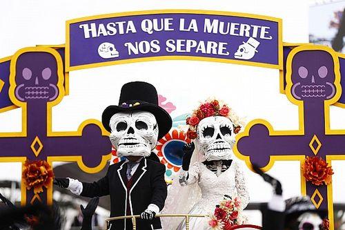 Cuando el Día de Muertos llegó a la Fórmula 1 en México