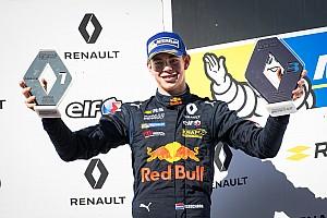 Formule Renault Nieuws Verschoor blij met sterk weekend: