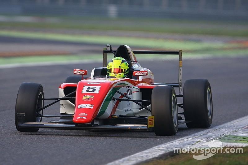 Mick Schumacher si impone in Gara 1 a Monza davanti a Siebert e Guzman