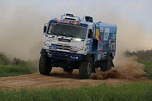 КамАЗы заняли первые три места в Астрахани