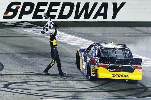 Erik Jones powers to NASCAR Xfinity win at Iowa