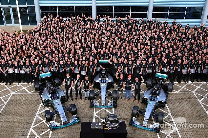 Неудержимые. Итоги сезона-2016 Формулы 1 для Mercedes