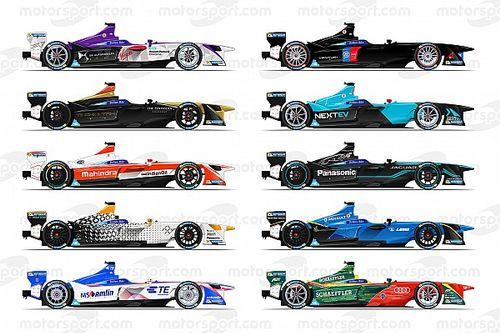 Diapo - Le plateau de la saison 3 de Formule E en un coup d'œil