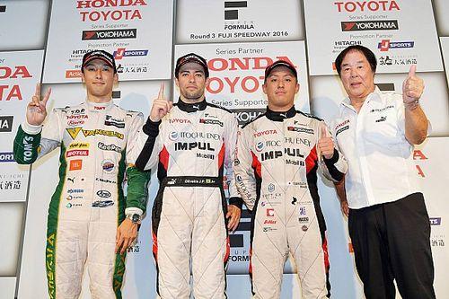 Fuji Super Formula: de Oliveira beats Nakajima, Vandoorne spins