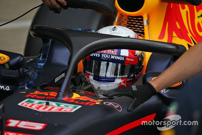 """Gasly """"surprised"""" by Halo visibility"""