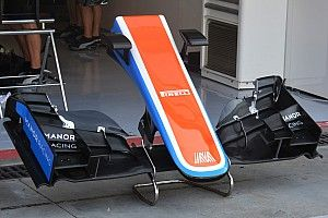 Bite-size tech: Manor MRT05 front wing