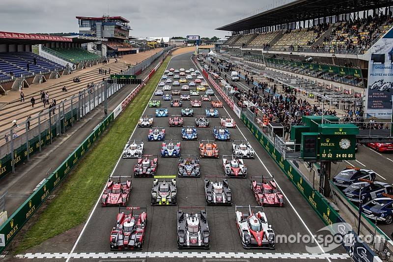 24 Hours of Le Mans Test Day ready to roll!