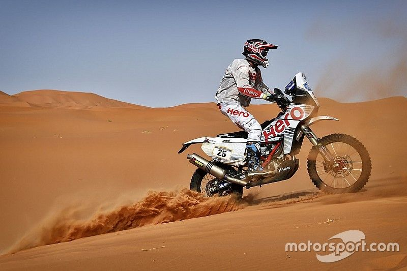 Hero targets podiums after top 10 finish in Merzouga