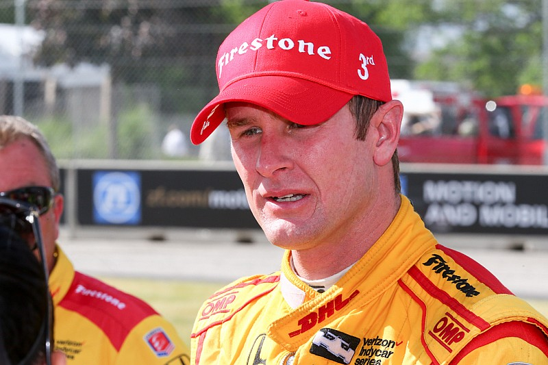 Hunter-Reay 'close to tears' after engine problem cost likely win