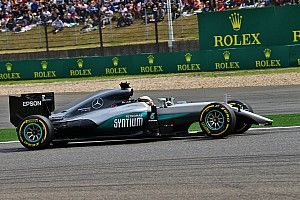 """Hamilton: My car was """"like a four-poster bed today"""""""